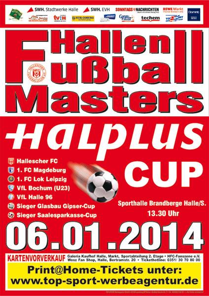 Plakat HalPlus-Cup