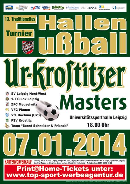 Plakat Ur-Krostitzer-Masters