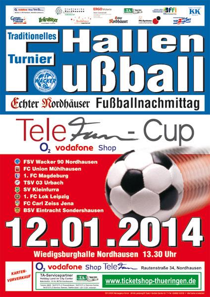 Plakat Echter Nordhäuser Fußballnachmittag