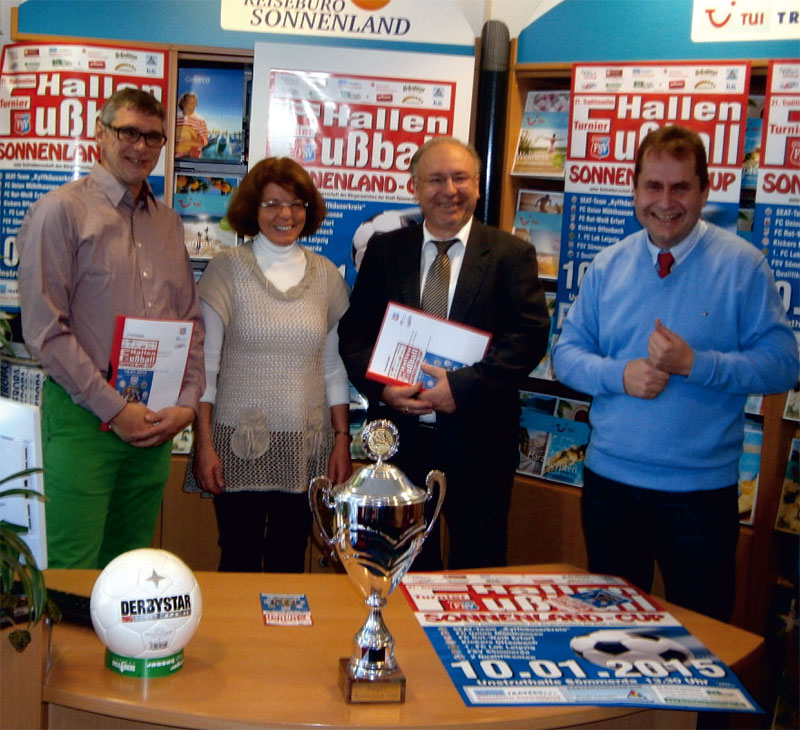 Pressekonferenz zum Sonnenland-Cup 2015