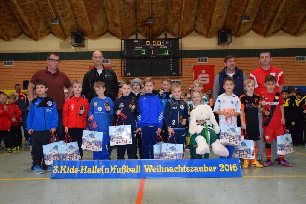 Kids-Halle(n)fußball-Weihnachtszauber 2016 F-Jugend