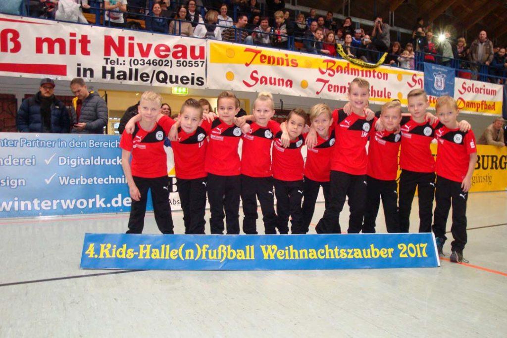 Kids-Halle(n)fußball-Weihnachtszauber 2017 E2-Jugend