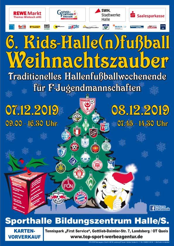 Kids-Halle(n)fußball-Weihnachtszauber